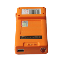Small Hand Dynamo 5V/6000mAh Protable Outdoor Emergency Charger Hand Crank Phone Charger With LED Flashlight