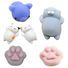 Human Emotion Antistress Animals Ball Relax Adult Novelty Toys Stress Relieving Anti-stress Ball Toys Soft Squeeze Bread Gifts