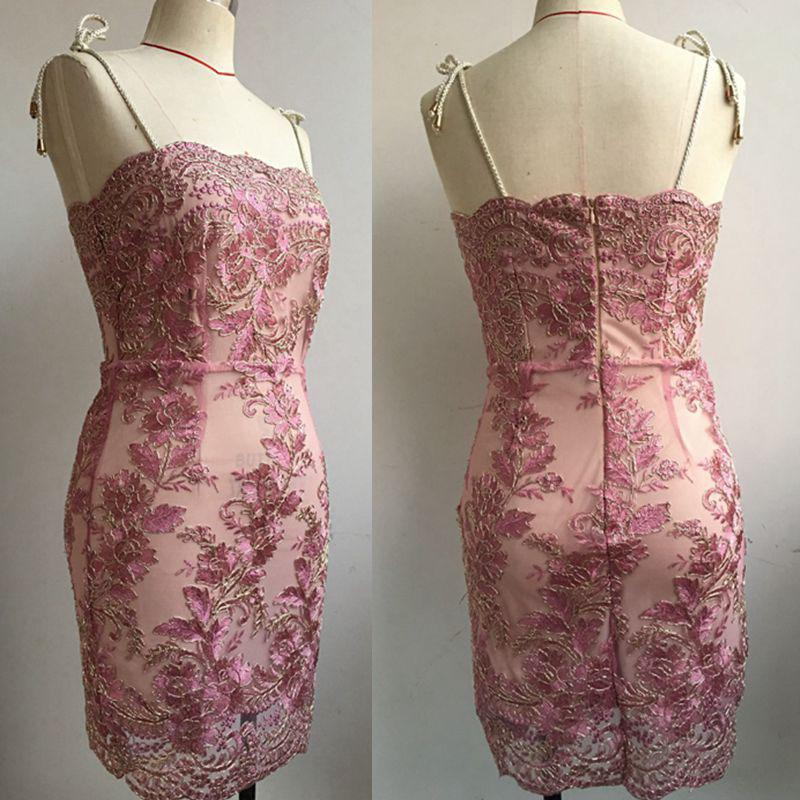 Strap Embroidery Lace Sexy Women Mini Dress 2017 New Autumn Elegant Sheath (10)