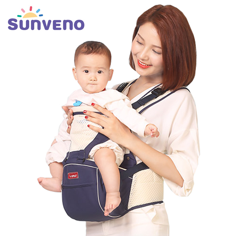 SUNVENO Baby Carrier New Fashion Summer Breathable Hipseat Carrier baby Ergonomic Sling Baby Carrier<br>