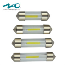 NAO 10x c5w led Festoon 31mm 36mm 39mm 41mm car interior light automobiles signal lamp license plate Turn Signal Dome Rear bulbs(China)