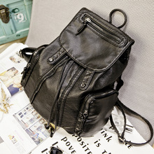 Hot Sale Brand Designer Pu Leather Backpack Women Preppy Style School Vintage Backpack for Girls Travel Shopping Backpack