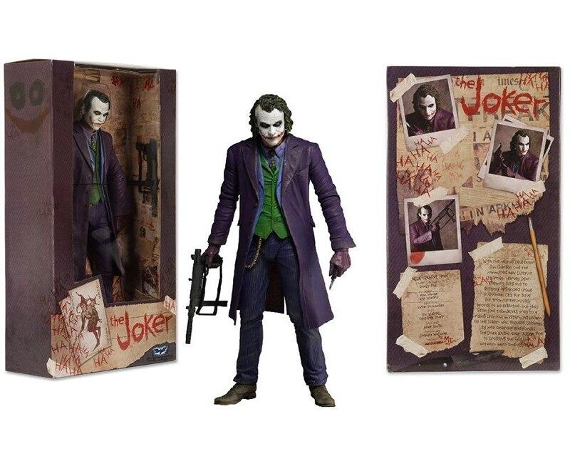 Action Figure -Batman The Dark Knight - Coringa Heath Ledger