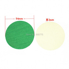 Air Hockey 94mm Sticker Green Soft Pad -10 pcs /lot Adult Table games entertainments toys(China)