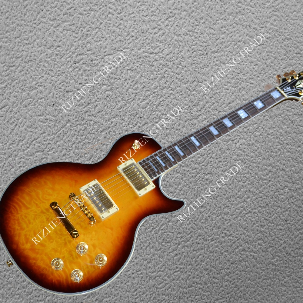 electric guitar big flower Two pickup Top Quality ...