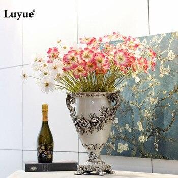 Luyue Искусственные цветы поддельные Космосов реалистичные шелковые цветы для Свадьбы украшения дома центральным цветы Партия Декор 4 цвет