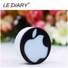 LEDIARY Novelty LED Night Light US Plug Romantic Love Apple Lighting Sensor Light Lamp Veilleuse for Baby Bedside/Gift
