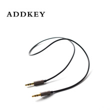 ADDKEY New 3.5 mm Jack Aux Audio Cable Male to Male Car Aux Cable Gold Plated Auxiliary Cable for Car / iPhones / Media Players