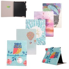 "for Apple Ipad Pro 12.9"" Case Cover Green Bird Peacook Wallet Flip KickStand Card Slots PU Leather Tablet Back Case With OPP Bag"