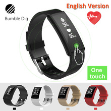 B-DIG Smart Wristband Waterproof Heart Rate Monitor Smart Band Fitness Tracker Blood Pressure ip68 gps