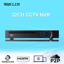 WANLIN 32CH 1080P NVR HI3535 Network Video Recorder Support 2SATA HDD Wifi 3G RTSP 16CH 4MP 8CH 5MP IP Camera ONVIF P2P XMEYE