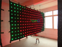 hight quality falling star led video curtain on aliexpress