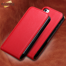 KISSCASE Luxury Leather Vertical Flip Mobile Phone Case For Apple iPhone 4S 4 4G Ultra Slim Korean Style Cover For iPhone 4 4S