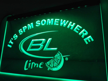 LA679- It's 5 pm Somewhere Bud Lite Lime   LED Neon Light Sign     home decor  crafts