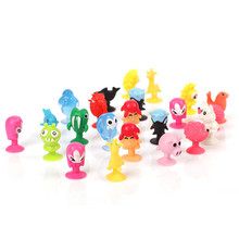 50 pcs/lot Action Figures Toy cute Sucker little monster Small animals doll kids Toys Mini Capsule Children Gift