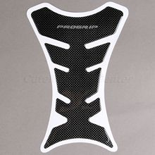Motorcycle Universal 3D Carbon Fiber Gel Gas Fuel Tank Pad Protector Sticker for Suzuki Kawasaki Honda Yamaha Ducati(China)