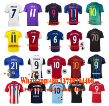frr bayErned muNiched psg barcelonas Adults Man psg soccer jerseys 16 17 realing MANchesteers city dortmund football  tgfser