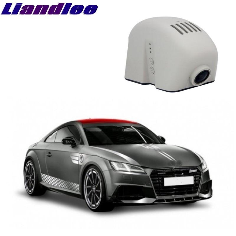 Liandlee For Audi TT TTS MK3 2014 ~2016 Car Black Box WiFi DVR Dash Camera Driving Video Recorder