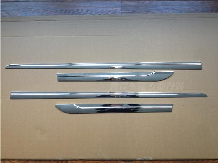 For 2014-2015 PEUGEOT 308S ABS Chromium car door body accessories moulding trim 4pcs<br><br>Aliexpress