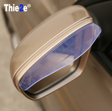 Car Styling Rearview Mirror Rain Eyebrow Shield Cover For Ford f150 f250 focus3 focus2 Focus mk2 Kuga Ka Fiesta Hatch F-Series(China)