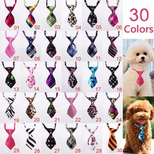 100pc/lot 2016 Factory Sale New Colorful Handmade Adjustable Dog Ties Pet Bow Ties Cat Neckties Dog Grooming Supplies P01