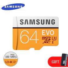 SAMSUNG Original Memory micro sd card 16GB/32GB/SDHC 64GB/SDXC Class10 EVO TF card Flash Cards Genuine security Free shipping(China)