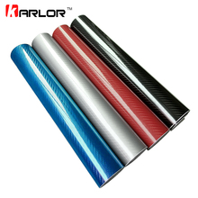 High Glossy 30CM*152CM 5D Carbon Fiber Vinyl Film Auto Wrapping Film Motorcycle Tablet Car Styling Stickers with Air Free Bubble