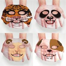 BIOAQUA 1 pcs Skin Care Sheep/Panda/Dog/Tiger Facial Mask Moisturizing Cute Animal Face Masks(China)