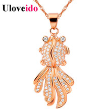 Valentine's Day Female Collar for Girl Necklace for Wedding Pendant to Long Chain Women Accessories Bijoux Femme Uloveido N530