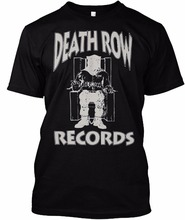 2017 Summer New High-End Men's Brand T-Shirt Ripple Junction Death Row Records slim Tee shirt Top plus size(China)