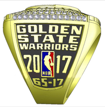 Factory direct sale 2017 Golden State Warriors DURANT Round Basketball custom sports world Championship Ring Size 6 to 15