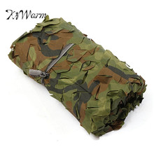 KiWarm On Sale Desert Camo Net Military Camouflage Netting Mesh Games Camouflage Net Hunting Camping Hide Garden Cover 3x5m