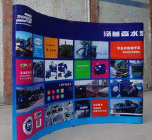 Tradeshow Combination 3X4 PVC POP up Backdrop + Spotlights+ 6ft Stretchable Table Cover + Quality 80X200CM Roll up Banners