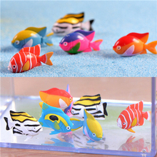 Mini Goldfish Fishes Dollhouse Landscape Miniatures Accessories Resin Ornaments Home Garden Decor Material 3*1.9cm(China)