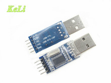 2PCS pl2303 module USB to TTL / USB-TTL / 9 upgrade board / STC microcontroller programmer PL2303HX chip Special promotions