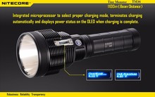 Nitecore TM36 Searching Flashlight SBT-70 Led 1800 Lumens Long-rang 1100M Distance Oled Display Search Light Not Battery