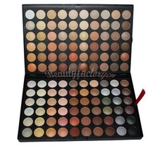 Free shipping Pro 120 Full Color Eyeshadow Palette Eye Shadow Makeup 4# Warm Cosmetics Contain Matte And Shine(China)