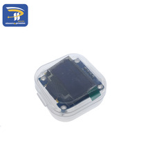 White and Blue color 0.96 inch 128X64 OLED Display Module For arduino 0.96 IIC SPI Communicate(China)