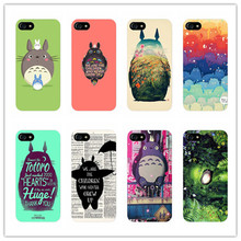 My neighbor totoro cartoon cover case For iphone 7 5S 5 E 6 6S plus Samsung Galaxy S6 edge S7 edge s5 Chinchilla lanigera cases