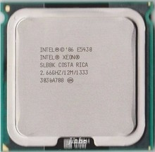 lntel Xeon E5430 2.66GHz/12M/1333Mhz/CPU equal to LGA771 Core 2 Quad (works on LGA 775 mainboard 2 Pieces Free)(China)