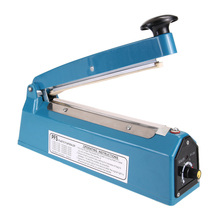 "110V 300W 8"" Impulse Bag Sealer Heat Sealing Machine Vacuum Food Sealer Poly Tubing Plastic Bag Packing Tools(China)"