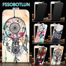 For Just5 Freedom X1 & MTC Smart Sprint 4G &Digma Linx A400 3G Patterns Cartoon phone cover flip Smooth vertical PU Leather Case
