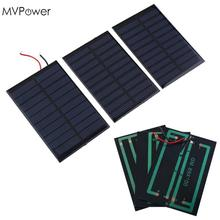 MVPower 5V 0.8W Solar Power Panel Bank 160mA Mini Solar Panel Battery power charger charging Module DIY Cell car