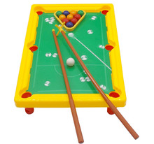 Mini American style Pool Table Children's Billiard Table Kids Educational Toys Parent-children interaction Supplies