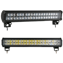 126W 20Inch 4D LED Work Light Bar Lamp car for Driving Truck SUV OffRoad Car FloodLight/spotlight