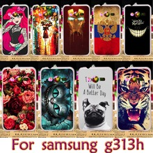 AKABEILA Soft TPU Plastic Plastic Case For Samsung Galaxy ACE 4 NXT G313 G318H 4.0 inch G313H Ace 4 Lite SM-G313H Case Cover(China)