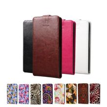 Luxury PU Leather Case Cover For Lenovo A859 A 859 Phone Case Open down/up Vertical Flip Back Cover Cell Phone Shell(China)