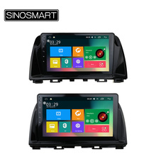 SINOSMART Support 4G RAM 2G/1G Android 6.0 Car GPS Player for Mazda 6 Atenza/CX-5 canbus optional for Bose, Native Camera(China)