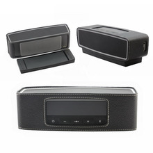 HOT PU Leather Case Skin Pouch Anti-knock Travel Bag Speaker Case For Bose Soundlink Mini 2 Bluetooth Speaker Promotion