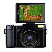 G36 Micro Single Digital Camera Full HD 1080P Portable Video Camcorders DV Super Night Vision with External Professional Lens(China)